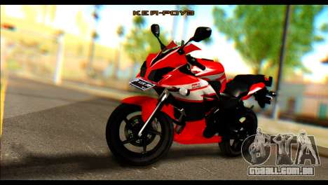 Honda All New CBR150R para GTA San Andreas