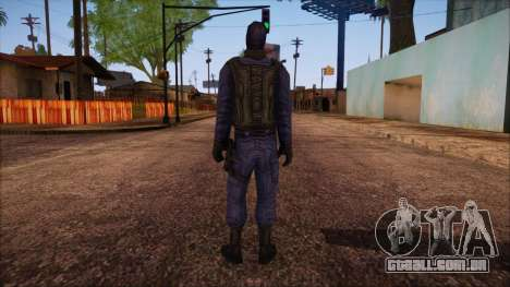 GIGN from Counter Strike Condition Zero para GTA San Andreas segunda tela