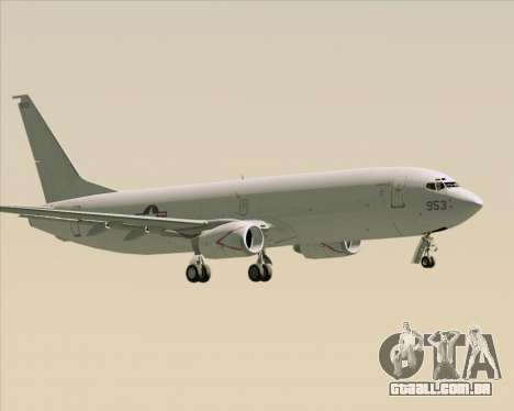 Boeing P-8 Poseidon US Navy para GTA San Andreas vista direita