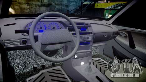 VAZ-2113 no pneuma para GTA 4 vista interior
