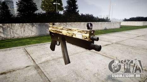 Submetralhadora MP5 Deserto para GTA 4