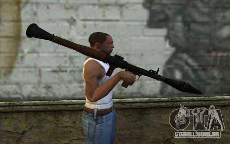 New Rocket Launcher para GTA San Andreas terceira tela