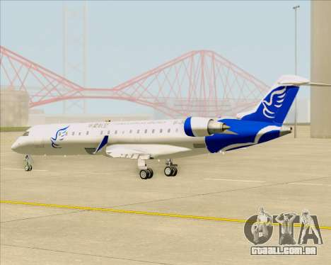 Embraer CRJ-700 China Express Airlines (CEA) para GTA San Andreas vista interior