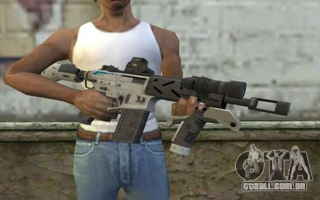 Peacekeeper from Call of Duty Black Ops II para GTA San Andreas terceira tela
