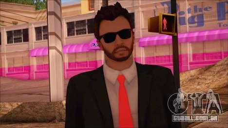 GTA 5 Online Skin 14 para GTA San Andreas terceira tela