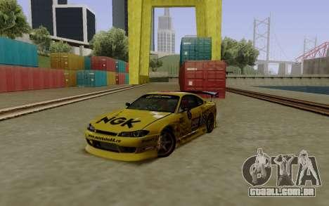 Nissan Silvia S15 NGK Motorsport para GTA San Andreas