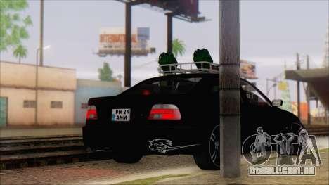 BMW 520d E39 2000 para GTA San Andreas esquerda vista