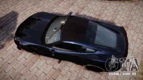 Chevrolet Corvette Z06 2015 TireYA3 para GTA 4 vista direita