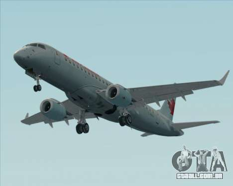 Embraer E-190 Air Canada para GTA San Andreas vista inferior