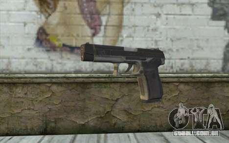 MP443 from COD: Ghosts para GTA San Andreas