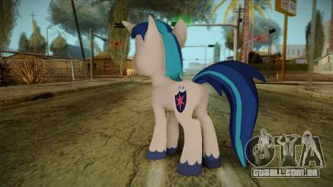 Shining Armor from My Little Pony para GTA San Andreas segunda tela
