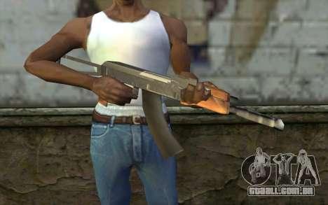 AK47 do Hitman 2 para GTA San Andreas