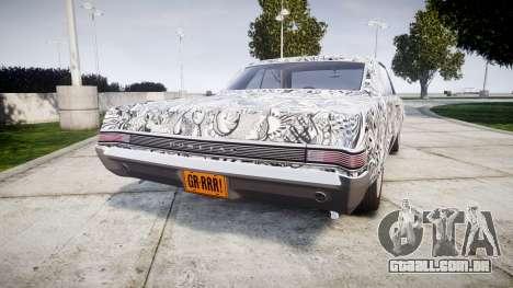 Pontiac GTO 1965 Sharpie para GTA 4 traseira esquerda vista