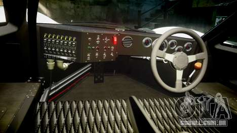 Ford GT40 Mark IV 1967 PJ 3 para GTA 4 vista de volta