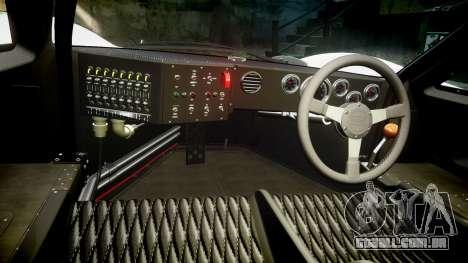 Ford GT40 Mark IV 1967 PJ Schila Racing 19 para GTA 4 vista de volta