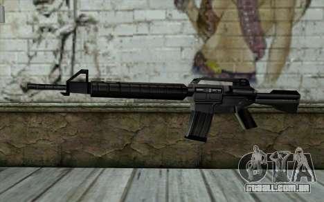 Retextured M4 para GTA San Andreas