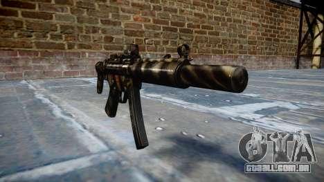 Arma MP5SD DRS CS c-alvo para GTA 4
