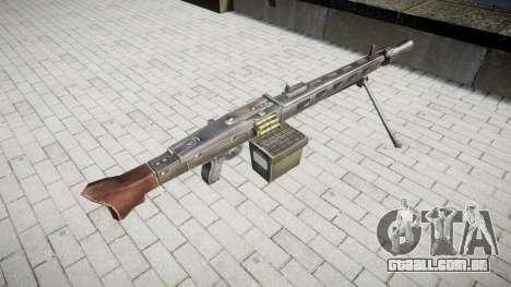 Alemão MG3 metralhadora icon3 para GTA 4 segundo screenshot