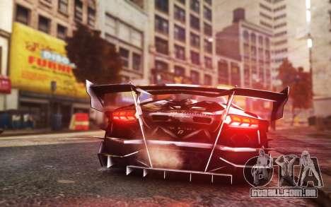 Lamborghini Aventador TZR R-Tech para GTA 4 esquerda vista