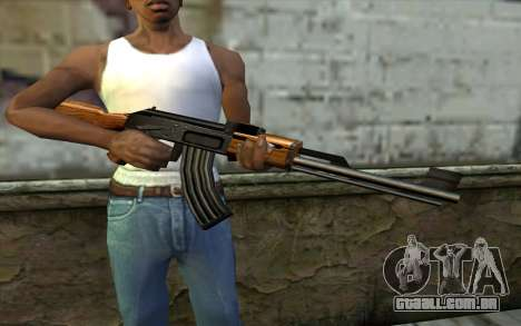 Retextured AK47 para GTA San Andreas terceira tela
