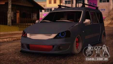 Dacia Logan MCV Tuning para GTA San Andreas