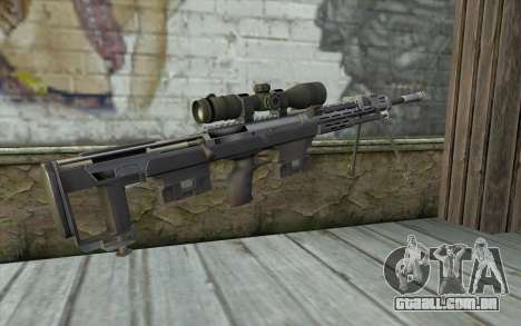 Sniper Rifle from Sniper Ghost Warrior para GTA San Andreas segunda tela