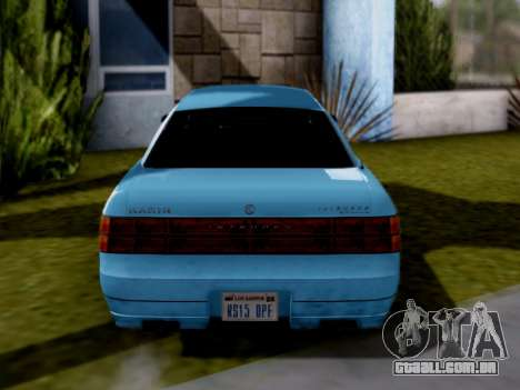 GTA V Intruder para GTA San Andreas vista direita