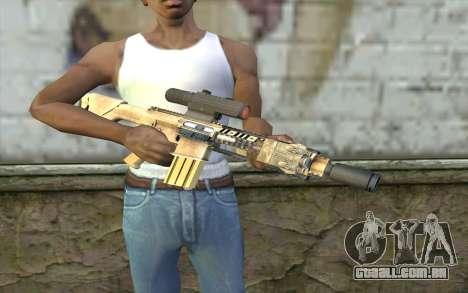 M110 Cuarter Combat Rifle para GTA San Andreas terceira tela