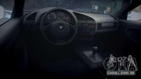 BMW M3 E36 para GTA 4 vista de volta