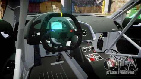Audi R8 LMS Castrol EDGE para GTA 4 vista de volta