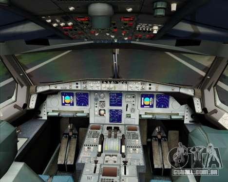 Airbus A340-600 Turkish Cargo para GTA San Andreas interior