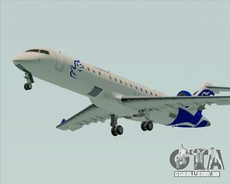 Embraer CRJ-700 China Express Airlines (CEA) para GTA San Andreas traseira esquerda vista