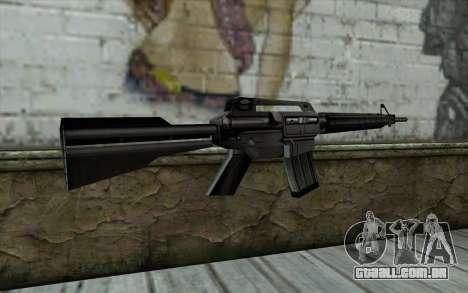 Retextured M4 para GTA San Andreas segunda tela