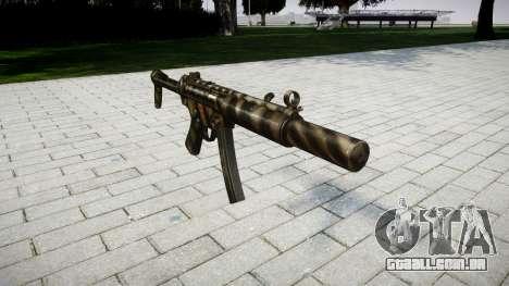 Arma MP5SD NA FS para GTA 4