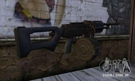 MG from GTA 5 para GTA San Andreas segunda tela