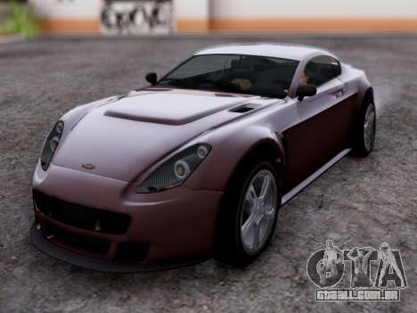 Dewbauchee Rapid GT para GTA San Andreas