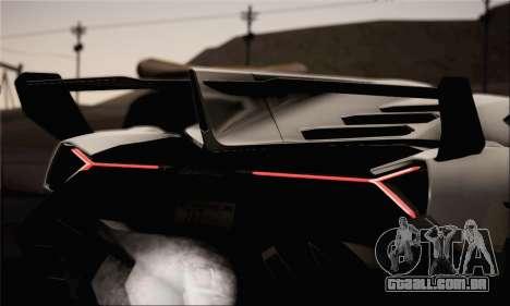 Lamborghini Veneno LP750-4 White Black 2014 para GTA San Andreas vista direita