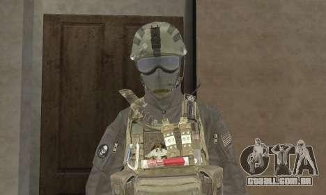 Spec Ops para GTA San Andreas segunda tela