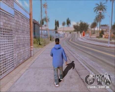 ClickClacks ENB V1 para GTA San Andreas sexta tela