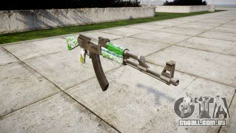 A AK-47 de Gado para GTA 4