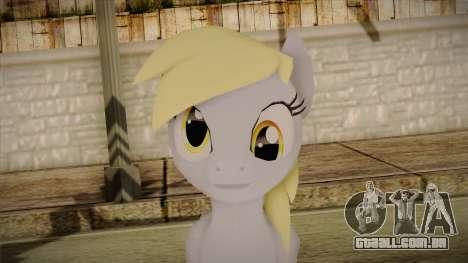 Derpy Hooves from My Little Pony para GTA San Andreas terceira tela
