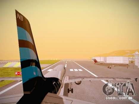 Airbus A320-214 Afriqiyah Airways para o motor de GTA San Andreas