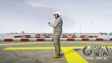 Piloto de combate para GTA 4 segundo screenshot