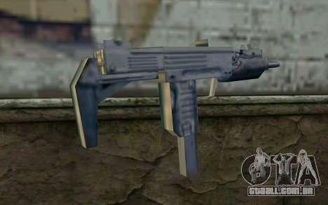 MP5 from GTA Vice City para GTA San Andreas segunda tela