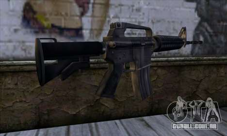 M4 from Far Cry para GTA San Andreas segunda tela