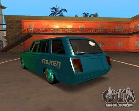 ESTES 2104 Falken para GTA San Andreas vista direita