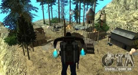 O Altruísta acampamento no monte Chiliad para GTA San Andreas décima primeira imagem de tela