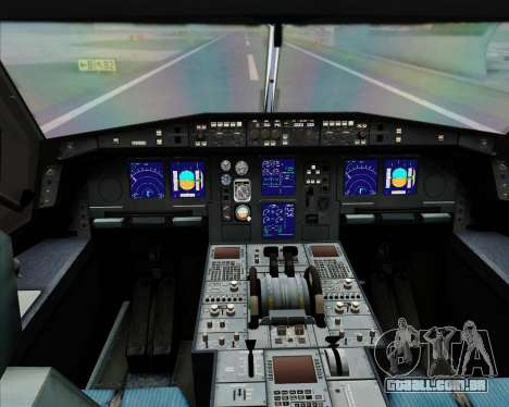Airbus A340-300 All Nippon Airways (ANA) para GTA San Andreas interior