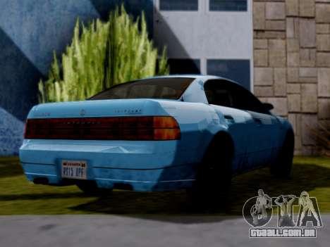 GTA V Intruder para GTA San Andreas esquerda vista