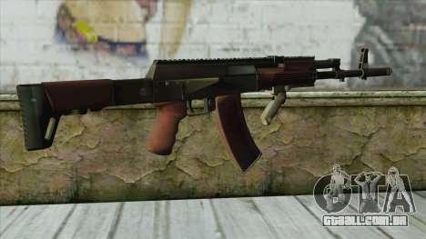 AK47 from Battlefield 4 para GTA San Andreas segunda tela